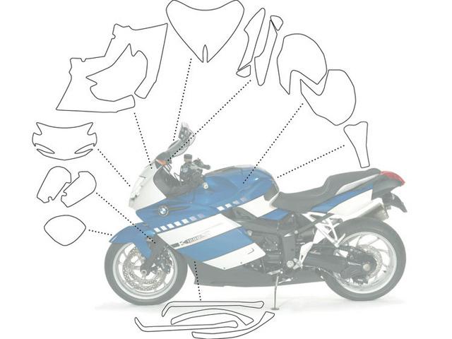 【Wunderlich】透明保護貼 Perfect (完整組) - 「Webike-摩托百貨」