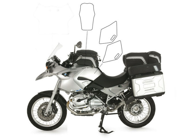 【Wunderlich】透明保護貼 (油箱組) - 「Webike-摩托百貨」