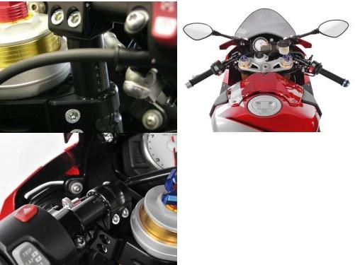 【Wunderlich】可調式增高把手套件 Sport ERGO VARIO (0mm-40mm UP) - 「Webike-摩托百貨」