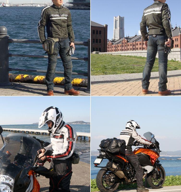 【ROUGH&ROAD】騎士網格外套 - 「Webike-摩托百貨」