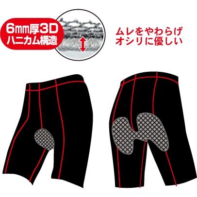【ROUGH&ROAD】3D網眼內穿褲 - 「Webike-摩托百貨」