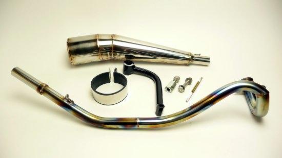 【CLIPPING POINT】不銹鋼 全段排氣管 - 「Webike-摩托百貨」