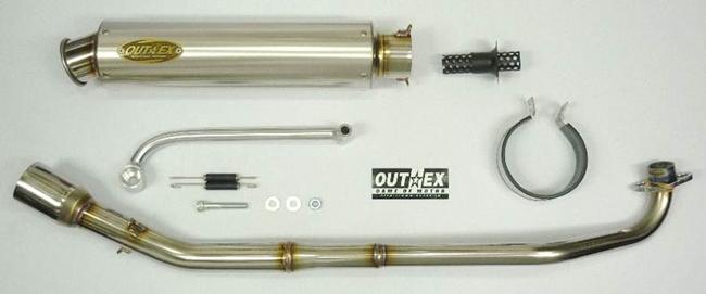 【OUTEX】OUTEX.R-STG-CATALYZE 全段排氣管 - 「Webike-摩托百貨」