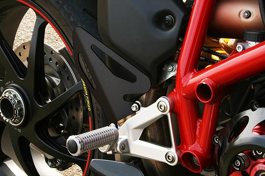 【MotoCrazy】SBK 腳跟保護板 (右側) - 「Webike-摩托百貨」