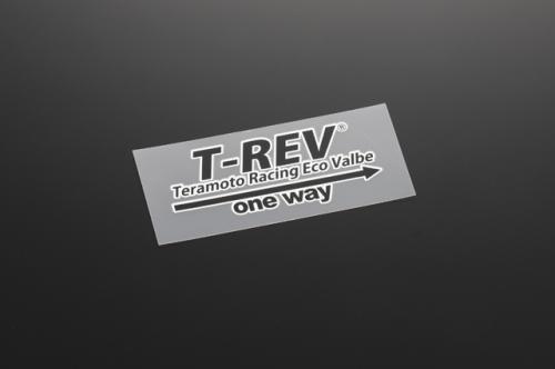 【T-REV】T-REV 轉印貼紙 黑 - 「Webike-摩托百貨」