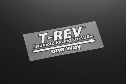 【T-REV】T-REV 轉印貼紙 白 - 「Webike-摩托百貨」