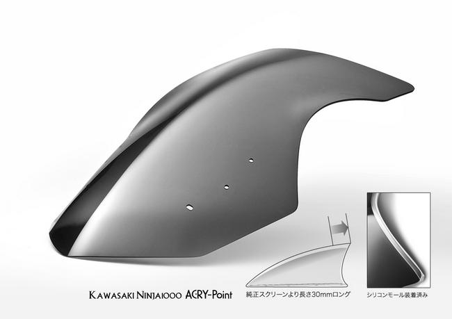 【ACRYPOINT】Street Type 風鏡 - 「Webike-摩托百貨」