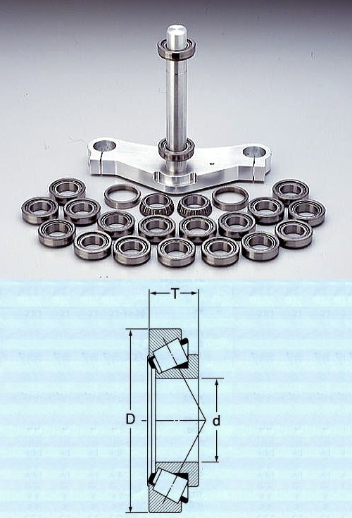 【RC Engineering】三角台滾錐軸承組 - 「Webike-摩托百貨」