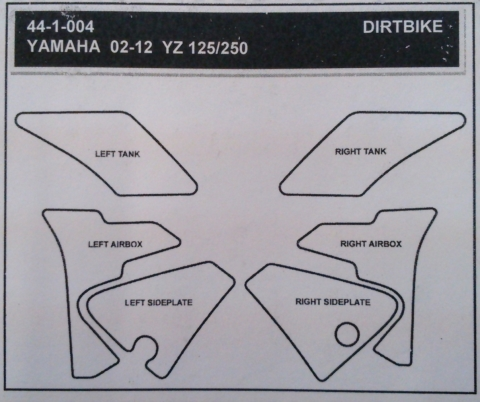 【STOMPGRIP】44-1004 油箱止滑貼 - 「Webike-摩托百貨」
