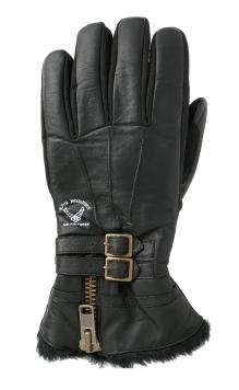 【ALPHA】B3TYPE 冬季皮革手套 - 「Webike-摩托百貨」