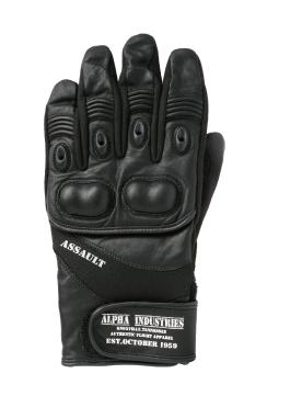 【ALPHA】Assault皮革冬季手套 - 「Webike-摩托百貨」