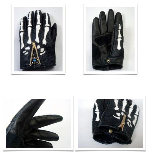 【Vin&Age】打孔手套 VG12B-2(Peeks) - 「Webike-摩托百貨」