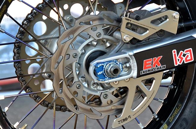 【ZERO-G】後煞車碟盤護蓋 - 「Webike-摩托百貨」