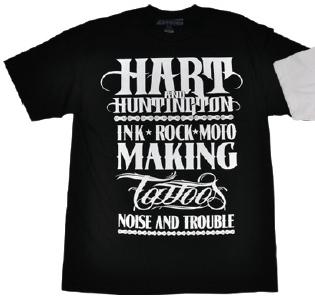 【Hart&Huntington】男用 T恤 LIFER - 「Webike-摩托百貨」
