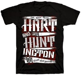 【Hart&Huntington】男用 T恤 GRUNDGE CARD - 「Webike-摩托百貨」