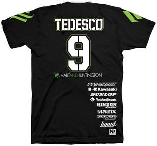 【Hart&Huntington】男用 T恤 OFFICIAL TEDESCO #9 - 「Webike-摩托百貨」
