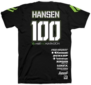 【Hart&Huntington】男用 T恤 OFFICIAL HANSEN #100 - 「Webike-摩托百貨」