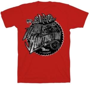 【Hart&Huntington】男用 T恤 GEARS - 「Webike-摩托百貨」