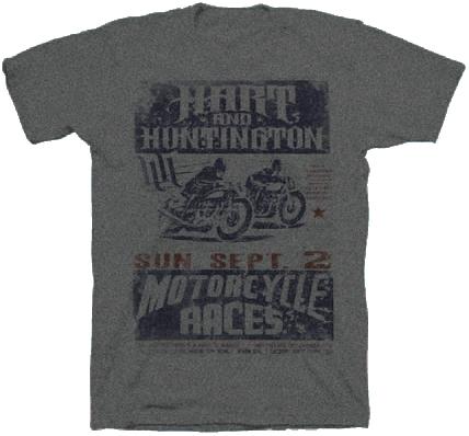【Hart&Huntington】男用 T恤 SPEEDWAY - 「Webike-摩托百貨」