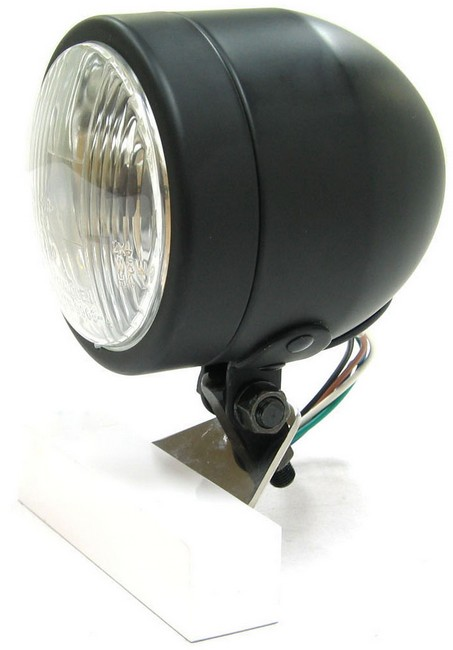【Garage T&F】4inch Dome大燈BK - 「Webike-摩托百貨」