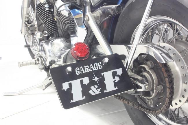 【Garage T&F】側牌照架套件 (Round LED/紅色尾燈) - 「Webike-摩托百貨」