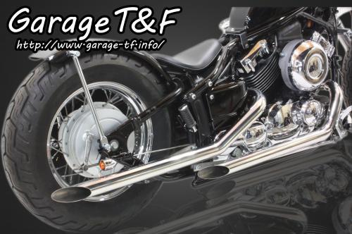 【Garage T&F】Drag pipe 全段排氣管(不銹鋼) Type I - 「Webike-摩托百貨」