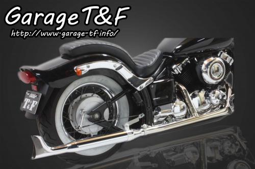 【Garage T&F】2in1 Classic 全段排氣管 Type 4 - 「Webike-摩托百貨」
