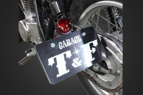 【Garage T&F】側牌照架套件 (Cat Eye 尾燈) - 「Webike-摩托百貨」