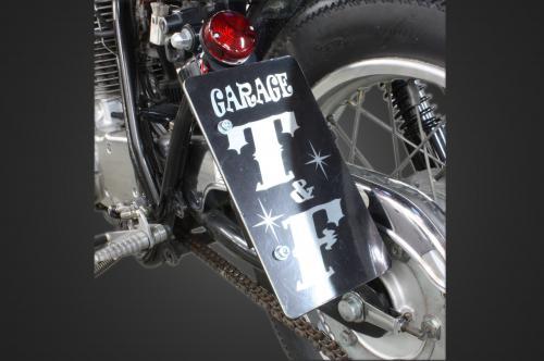 【Garage T&F】側牌照架套件 (Glass 尾燈 LED 透明燈殼) - 「Webike-摩托百貨」