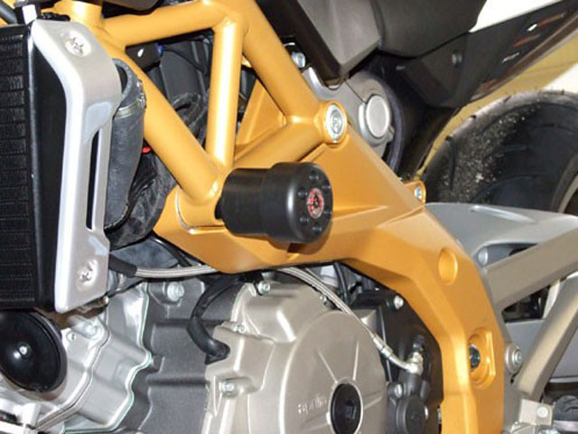 【P&A International】緩衝型引擎保護塊(防倒球) X-Pad (短) - 「Webike-摩托百貨」