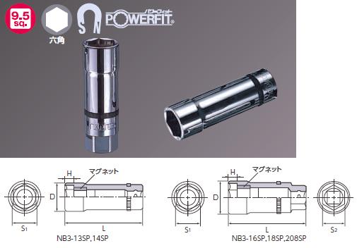 9.5sq. Plug Wrench