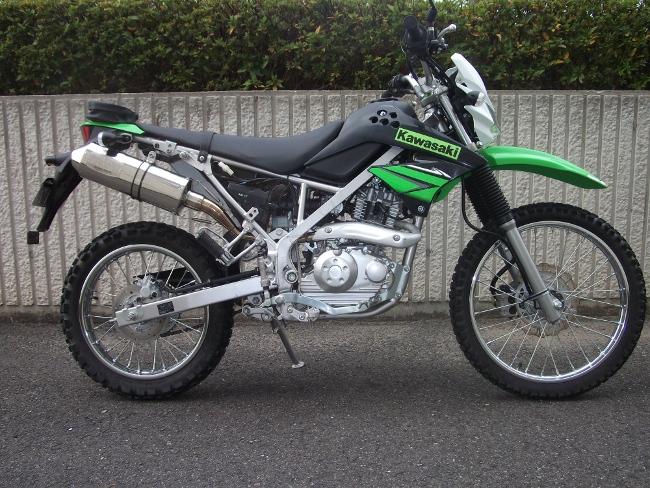 【PENSKE】KLX125 排氣管尾段 - 「Webike-摩托百貨」