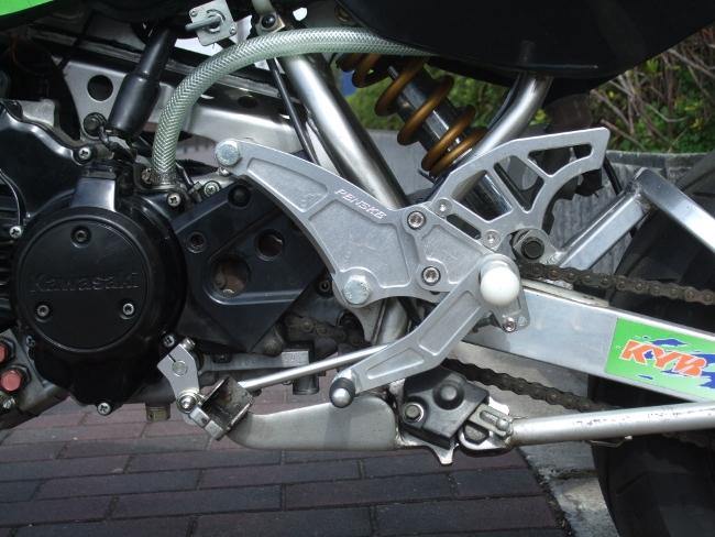【PENSKE】腳踏後移套件(銀) B型 - 「Webike-摩托百貨」