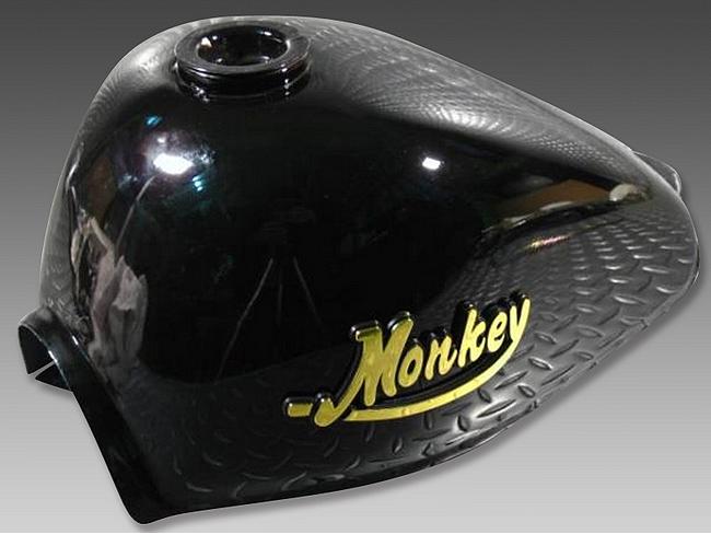 【MINIMOTO】Monkey油箱用立體銘板左右一組金 - 「Webike-摩托百貨」
