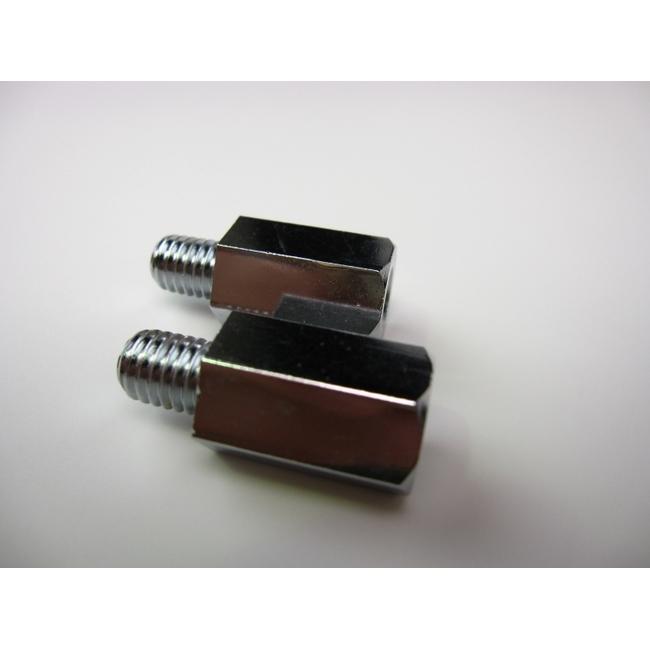 【MINIMOTO】後視鏡轉接器M10(正牙)→M8(正牙) - 「Webike-摩托百貨」