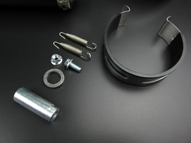 【MINIMOTO】 UP 碳纖維全段排氣管 Type D  - 「Webike-摩托百貨」