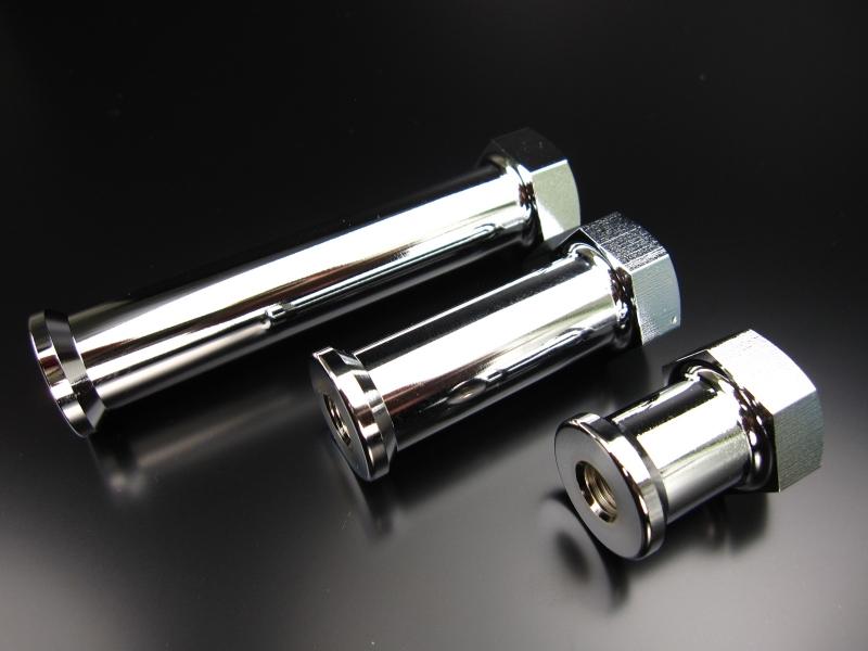 【MINIMOTO】Monkey鋁合金製90mm延長排氣管支架 - 「Webike-摩托百貨」