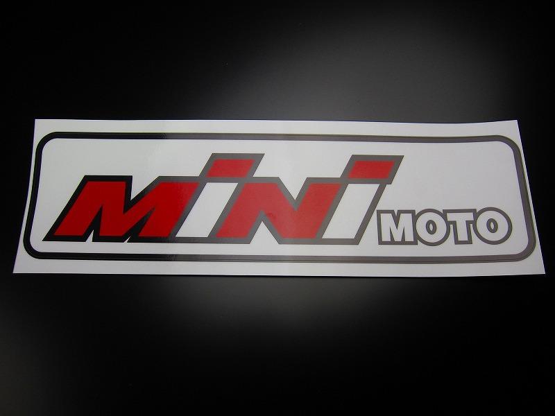 【MINIMOTO】Minimoto貼紙大 - 「Webike-摩托百貨」