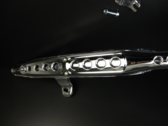 【MINIMOTO】Dax 88cc-125cc 普通型 電鍍全段排氣管 - 「Webike-摩托百貨」