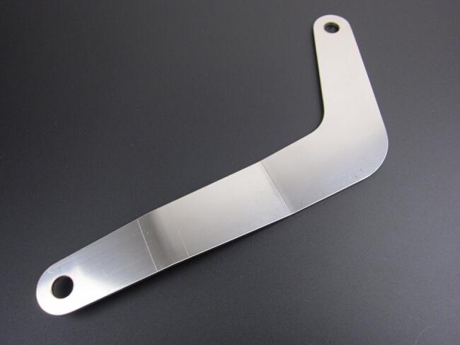 【MINIMOTO】強化下移排氣管平板支架不鏽鋼製 - 「Webike-摩托百貨」