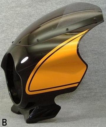 【MOTO ZOOM】頭燈整流罩 Design B - 「Webike-摩托百貨」