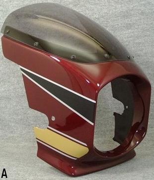 【MOTO ZOOM】KAWASAKI 頭燈整流罩 Design A - 「Webike-摩托百貨」