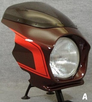 【MOTO ZOOM】頭燈整流罩 Design A (最終版塗裝規格) - 「Webike-摩托百貨」