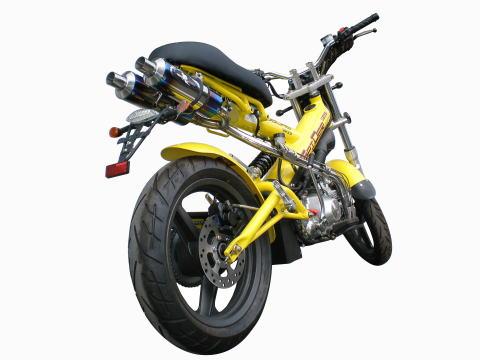 【R-style】SPIDER125 Dual Python 雙出型全段排氣管 - 「Webike-摩托百貨」