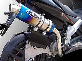 【R-style】GP1 250i Real Python 全段排氣管 - 「Webike-摩托百貨」