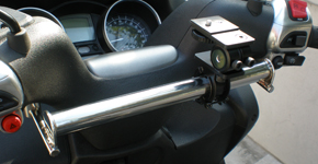 【R-style】MP3 250/400 FL/RL用 導航機固定架 - 「Webike-摩托百貨」