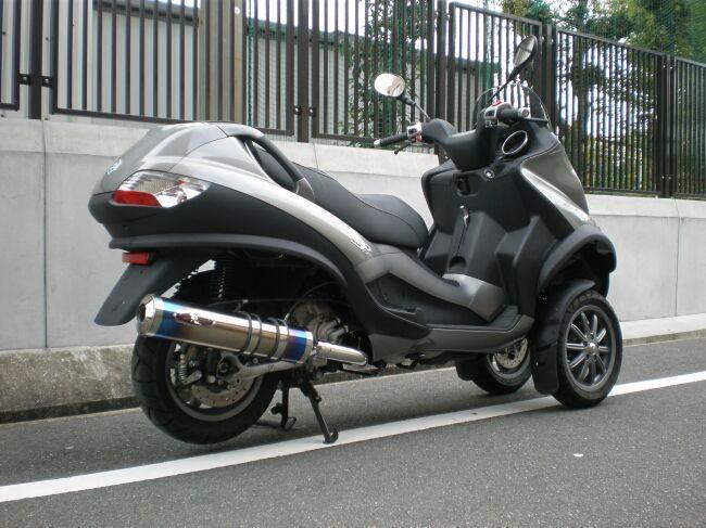 【R-style】PIAGGIO MP3 250 RL/FL Dragunova 全段排氣管 - 「Webike-摩托百貨」