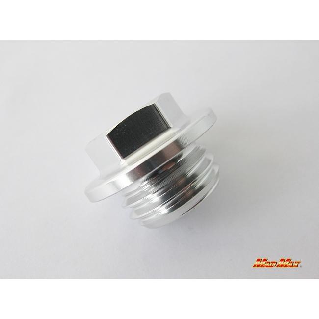 【MADMAX】鋁合金製機油注油塞 (銀色) CBR250R用 - 「Webike-摩托百貨」