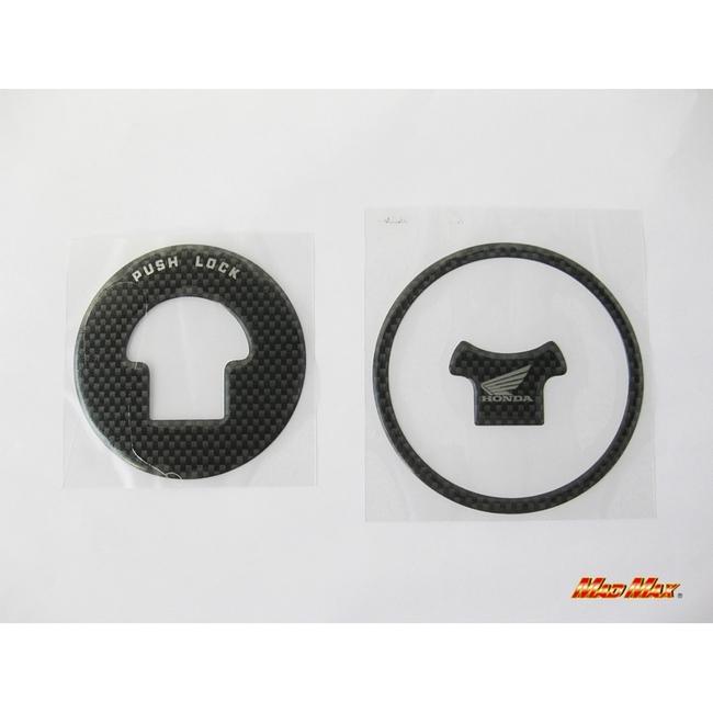 【MADMAX】碳纖維油箱蓋貼片 CBR250R用 - 「Webike-摩托百貨」