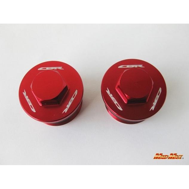 【MADMAX】前叉上蓋  /紅色  CBR250R用 - 「Webike-摩托百貨」